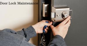 Door Lock Maintenance