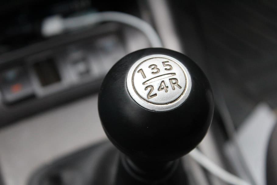 Car in Parking Gear