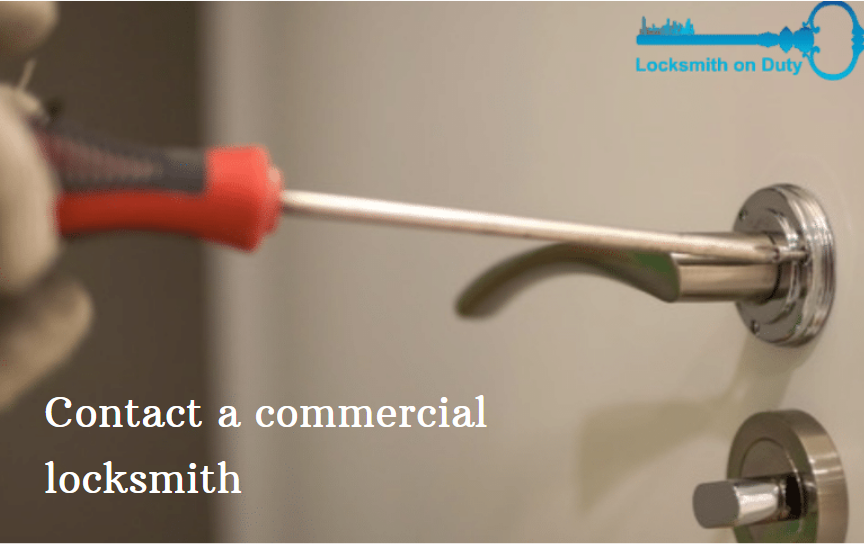 Contact a Commercial Locksmith