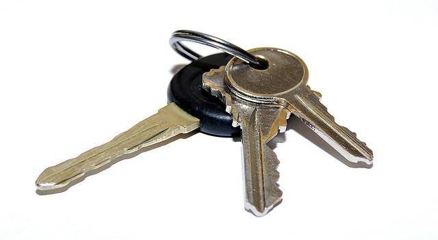 No fumbling for keys