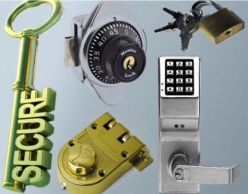 Types of secure locks