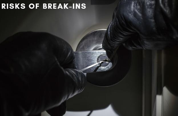 Risks of break-ins