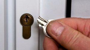 Lock got damaged