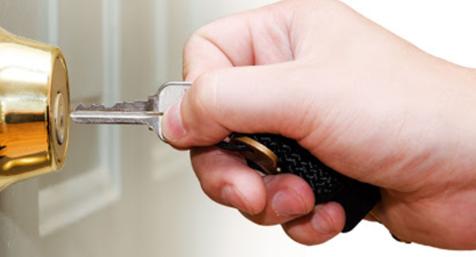 Re-key lock.