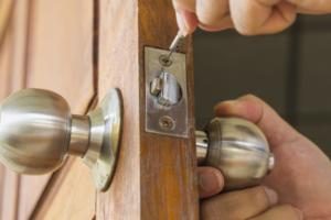Lock installation