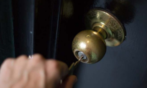 Using a key to unlock