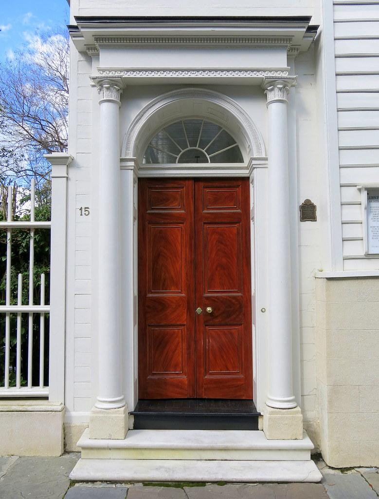 Door requiring new hinges