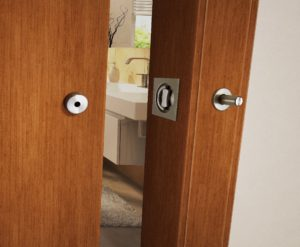 Place for lock installation