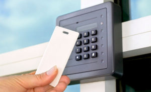 Operating access control system