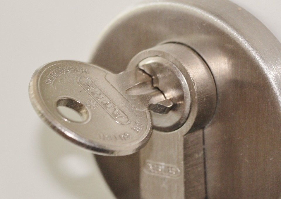 Hire a professional locksmith