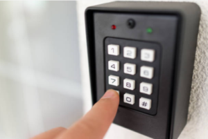 Features of a home security system